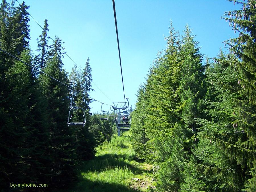 Rila mountain resort in Bulgaria.