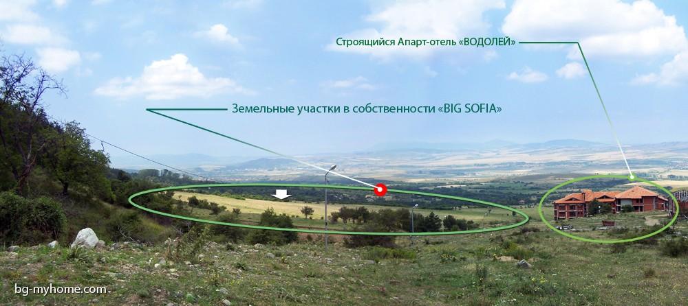 """Земля в собственности """"BIG SOFIA"""""""