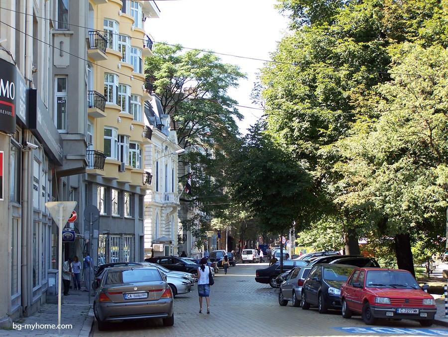 Болгария, в центре Софии