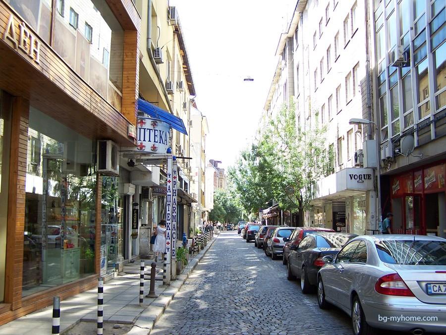 Болгария. В центре Софии