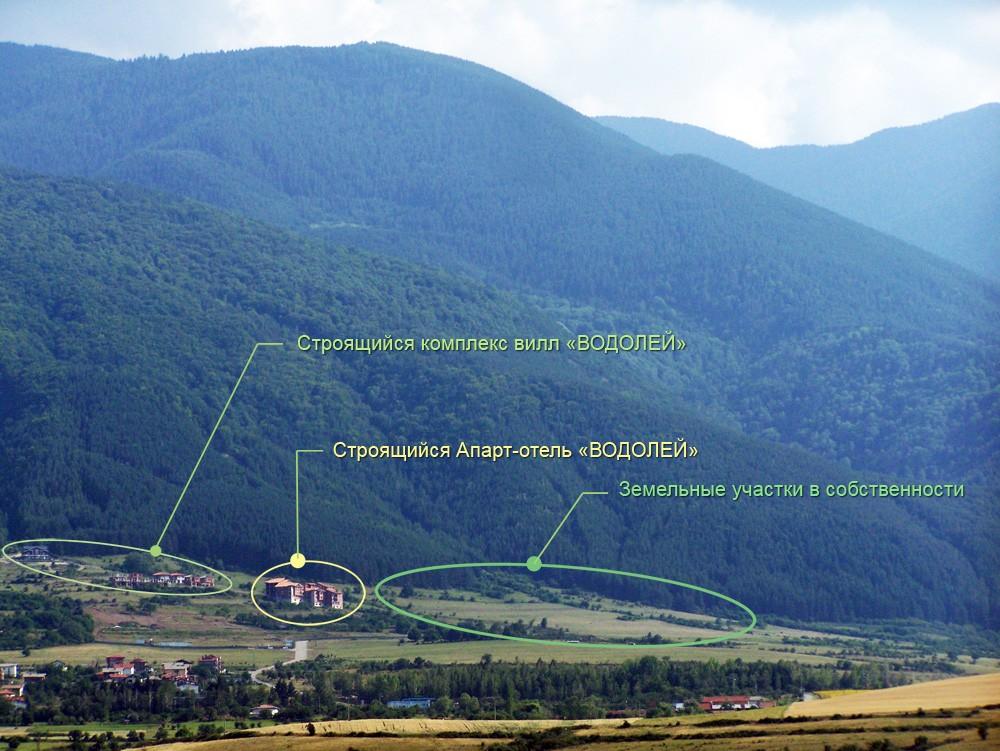 Сапарева-Баня. Продажа земельных участков
